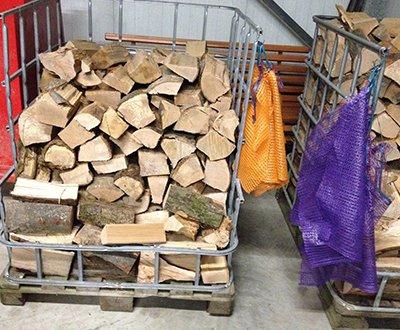 Brennholz zum Mitnehmen